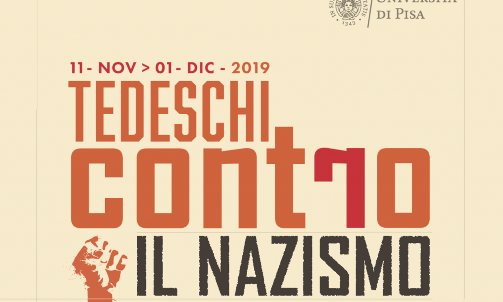 Locandina Tedeschi contro il nazismo