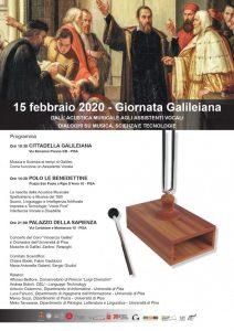 Manifesto della Giornata galileiana