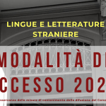 Ammissione a Lingue e Letterature Straniere (numero programmato): tutte le informazioni