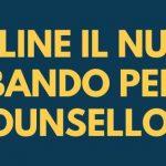 Graduatoria bando counsellor – scadenza 4 dicembre 2020