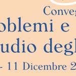 Metodi, problemi e prospettive nello studio degli epistolari – 9-11 dicembre 2020