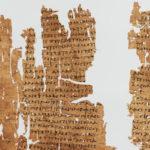 Laboratorio di Papirologia: lezione inaugurale – 7 ottobre 2021
